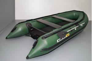 Лодка ПВХ Солар-380 Jet Tunnel