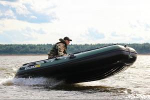 Лодка ПВХ. Солар Максима-380