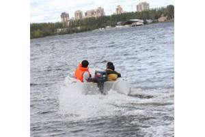 Лодка ПВХ Sport Line 430 AL Badger