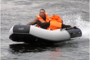 Лодка ПВХ Wave Line 390 PW Badger