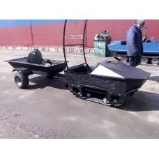 Мотобуксировщик Север СКМФ 700 / 15л.с плавающий