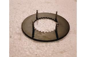 Фрикционный диск под шпильку (со шпильками) 21113/168F - 190F