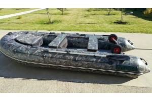 Лодка HYDRA Nova PLUS 380 «Люкс» Камуфляж