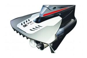 Гидрокрыло для подвесного лодочного мотора 40-350 л.с. черное, установка без сверления антикавитационной плиты