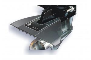 Гидрокрыло для подвесного лодочного мотора 40-350 л.с. черное