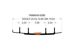 Коньки для лыж снегохода Yamaha DY4-6580