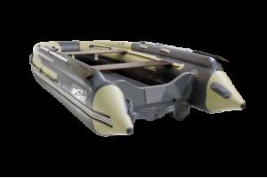 Лодка ПВХ SKAT 390 S с интегрированным  Фальшортом + Пластиковый транец