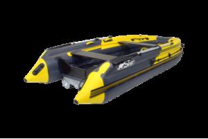 Лодка ПВХ SKAT 390 S НД Пластиковй транец