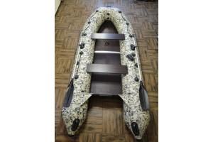 Лодка ПВХ Ривьера 3400 СК Компакт камуфляж