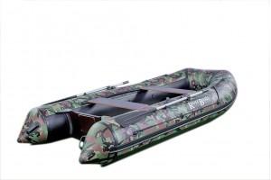 Лодка ПВХ RiverBoats RB с жестким дном — 410 (Киль) камуфляж