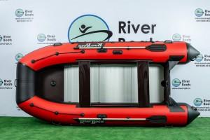 Лодка ПВХ RiverBoats RB — 430 (Киль + алюминиевый пол)