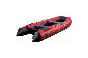 Лодка ПВХ RiverBoats RB с жестким дном — 410 (Киль) красный