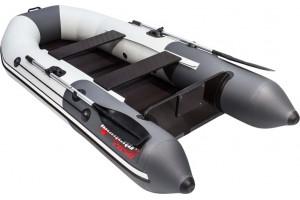 Лодка ПВХ Таймень NX 2850 СК слань-книжка + киль под мотор