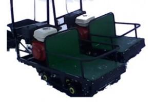 Мотобуксировщик Щукарь 500, 9 Л/С, 1250мм Задний привод