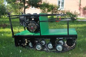 Мотобуксировщик Щукарь 380, 6,5 Л/С, 1250мм,  Задний привод Автомат