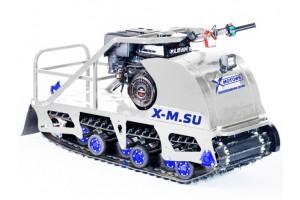 Мотобуксировщик SNOW DOG 9 л.с. с эл.запуском