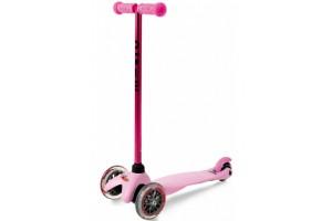 Mini Micro Sporty Candy Розовый (прозрачные колеса)