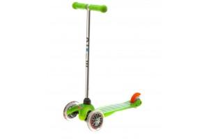Mini Micro Зеленый (прозрачные колеса)