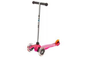 Mini Micro Розовый (прозрачные колеса)