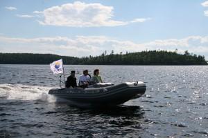 Моторная лодка Посейдон-520 PRO S  c деревянным килем