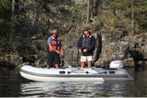 Моторная лодка Касатка-385 Sport
