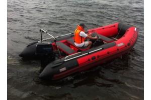 Моторная лодка Посейдон-520  красный